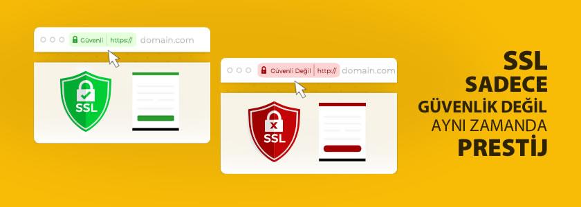 SSL Güvenlik Sertifikası